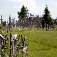 Hill of Crosses, near Siauliai, Lithuania