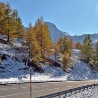 Simpoln pass at Monte Leone - Indian summer with a bit of fresh snow